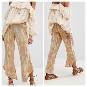 Free People Dancing Day's Pull On Pants XS